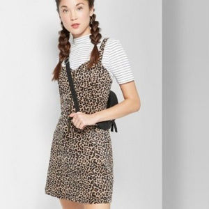 Dresses & Skirts - wild fable leopard dress Target
